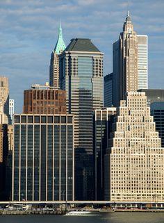 60 Wall Street - FiDi, NYC, Starett & van Vleck, The Downtown Athletic Club