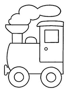 Train color pages. Transportation coloring pages. Coloring pages for kids. Thousands of free printable coloring pages for kids! Applique Templates, Applique Patterns, Applique Designs, Embroidery Designs, Applique Ideas, Felt Patterns, Train Coloring Pages, Printable Coloring Pages, Coloring Books