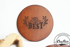 Best friend gift,bff,Coworker gift,Sisters gift,girlfriend gift,You are my person,Personalized Leather Coasters Set,Cup of tea,Home decor   Is there something better than h...