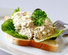 Cottage Style Tuna Salad Diabetic friendly Lunch