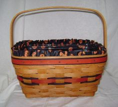 Longaberger Halloween Boo Basket by AmericanQuiltWorks on Etsy, $60.00