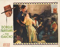 Lobby Card from film The Gaucho