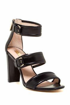 'Gisabel' Ankle Strap Sandal Black 6M