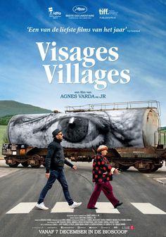 Regisseuse en fotografe Agnès Varda (LES GLANEURS ET LA GLANEUSE, LES PLAGES D'AGNÈS) is een markante figuur in de Franse cinema. Samen met JR, een eigenzinnige kunstenaar met een grootse verbeelding, vormt ze een uniek duo. Agnès is inmiddels in de tachtig, JR midden dertig. Hun belevingswerelden komen samen in VISAGES VILLAGES (FACES PLACES). Ze laten zich leiden door toeval, passie en intuïtie.