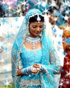 Turquoise Sharara