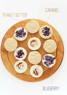 Vegan Cheesecake Bites 3 ways! MinimalistBaker.com #minimalistbaker