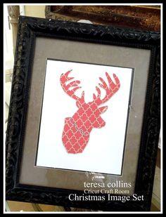 Holiday Art Housman should do this with a Moose Holiday Fun, Christmas Crafts, Christmas Decorations, Holiday Decor, Christmas Signs, Holiday Ideas, Christmas Ideas, Xmas, Cricut Cuttlebug