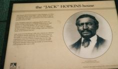 JACK HOPKINS HISTORICAL WAYSIDE MARKER IN GETTYSBURG PA