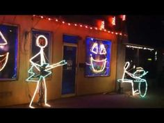 ▶ Halloween Light Show 2011- The Time Warp - YouTube