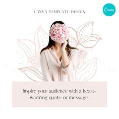 Feminine Instagram Story Design – Canva Template #instagram #post #template #canva #canvapro #minimalist #minimal #simple #beauty #flowers #elegant #chic #design #social #media #feminine #quote #new #ideas #diy #flower #floral