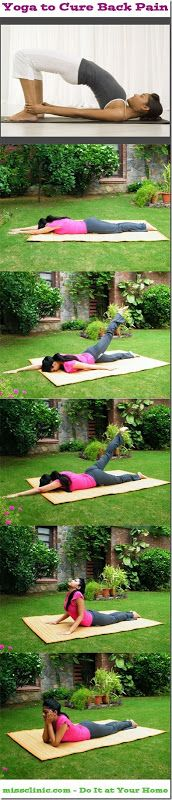 Yoga to Cure Back Pain - Illustrated With Complete Pictures