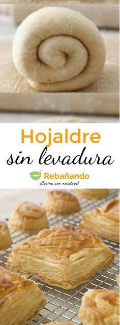 Pasta dough recipes crusts 57 ideas for 2019 Pie Crust Recipes, Pastry Recipes, Bread Recipes, Baking Recipes, Venezuelan Food, Sweet Dough, Pan Dulce, Empanadas, Bread And Pastries