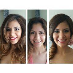 Boudoir makeup. Bridal makeup. MAC cosmetics.  Red lips. Mckinney TX. DFW brides. Makeup by Wendy Zerrudo.  Hair by Montanna