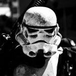 Stormtrooper Star Wars Battlefront Black and White Wallpaper