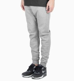 Raised by Wolves Heather Grey Logotype Sweatpants