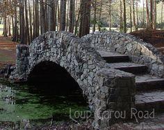 stone bridges | Stone Bridge - 8x10 matted print - $70 - ADD TO CART | 11x17 matted ... Dry Stone, Brick And Stone, Stone Work, Pond Bridge, Garden Bridge, Natural Pond, Design Jardin, Stone Masonry, Stone Houses