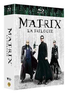 Matrix - La trilogie en BLU-RAY - NEUF