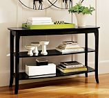 chloe console table from pottery barn