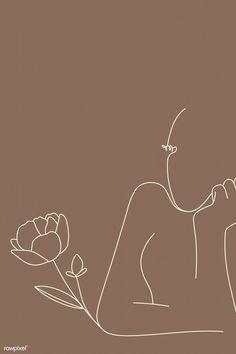 Feminine line art vector Minimal Art, Line Art Vector, Minimalist Wallpaper, Abstract Line Art, Pastel Wallpaper, Aesthetic Art, Aesthetic Wallpapers, Art Inspo, Art Drawings