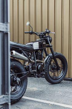 Avec & Co   AVEC – Moto TW125 #17 Tw Yamaha, Tw 125, Tracker Motorcycle, 125cc, Scrambler, Bike, Vehicles, Vintage, Motorcycles