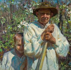 Daniel F. Gerhartz. I love the sentiment in this painting and his painting style.