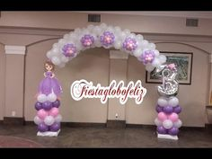 Marco para fotos con globos para baby shower # 32 - YouTube