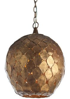 This is incredible, love love love it. Arteriors Osgood Iron Pendant