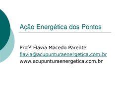 Ação energética dos pontos de acupuntura