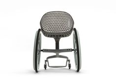 Materialise and LayerLAB's GO made-to-measure 3D-printed consumer wheelchair
