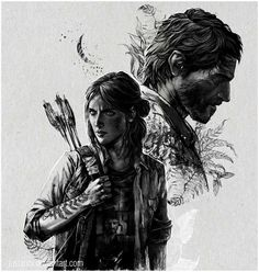 The Last of Us Part II Art Print by tatianaanor Last Of Us, All Video Games, Video Game Art, The Lest Of Us, Joel And Ellie, Mundo Dos Games, Edge Of The Universe, Sarada Uchiha, Dog Games
