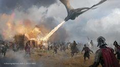 ArtStation - Game of Thrones - Season VII, Robert Simon