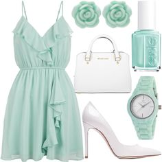 sunday brunch by j-n-a on Polyvore featuring New Look, Gianvito Rossi, Michael…