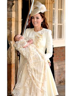 Duchess Catherine Has Another Major McQueen Moment at Prince George's Christening | People.com