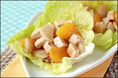 Hungry Girl's Chinese Chicken Lettuce Cups