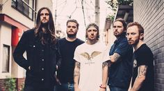 """This is an image of the band While She Sleeps, I will be writing an article featuring their new album """"Brainwashed"""""""