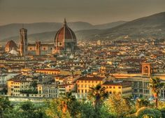 Twilight Atop Florence Italy Photo by Candace Simpson -- National Geographic Your Shot