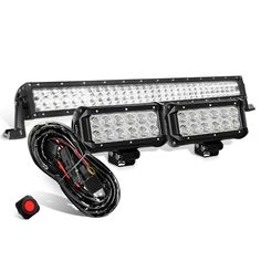 UPC: 600537016651 SPECIFICATIONS: LED Power: 36W (12 X 3W High Intensity LED)  ; Beam Pattern: Flood Beam LED Power: 180W (60 X 3W High Intensity LED);  Beam ...