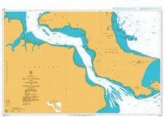 British Admiralty Nautical Chart 3471: Indonesia, Sumatera – East Coast, Selat Bangka and Approaches to Sungai Palembang and Pangkalbalam