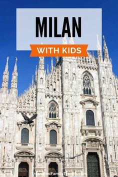 Vacationing in Milan with kids? If you are traveling to one of Italy's greatest destinations and are looking for things to do with children, click here! Find places to go in Milan with kids as well as day trips from this central city. #Milan #Italy #Europe #TravelwithKids #FamilyTravel Italy Vacation, Vacation Trips, Italy Travel, Day Trips, Travel Europe, Best Family Vacations, Family Travel, Best Of Rome, Italy For Kids