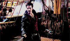 Captain Hook of the Jolly Roger #ouat #hook #killian jones