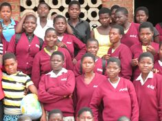 Creating generational change: AGE Africa students at Nsala Day School in rural Malawi.  Most of these girls will be the first in their villages to finish high school.