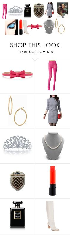 """""""117 sets until I've maintained my status as a Style Icon"""" by chrisone ❤ liked on Polyvore featuring RED Valentino, Betsey Johnson, Bony Levy, Bling Jewelry, CORO, MAC Cosmetics, Chanel and Maison Margiela"""