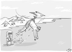 """Tell everyone it was a bigger bird."""