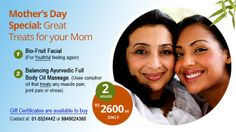 Celebrate this year #MothersDay with @Heritage_Spa's Special package for lovely Mothers.  Happy Mother's Day everyone:)