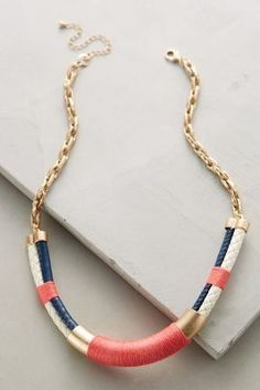 Anthropologie Nautical Necklace #anthrofave