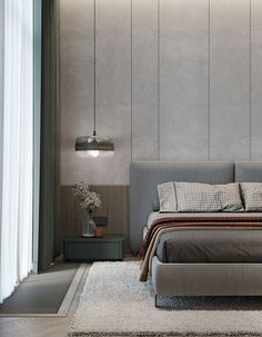 Bedroom False Ceiling Design, Bedroom Wall Designs, Master Bedroom Interior, Modern Master Bedroom, Bedroom Bed Design, Modern Bedroom Design, Bedroom Layouts, Home Room Design, Room Decor Bedroom
