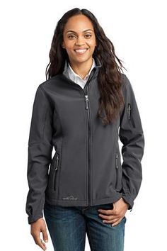 Eddie Bauer EB531 Ladies Soft Shell Jacket #eddiebauer #womensouterwear