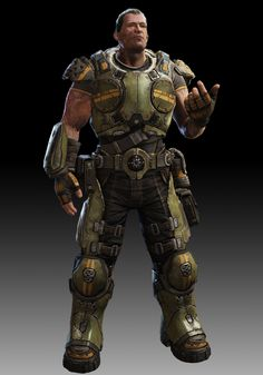 """Garron Paduk...one of the main protagonists of """"Gears of War: Judgement"""""""
