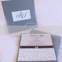Wedding Invitation - Mandy & Brett
