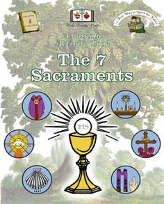 Totally Catholic Stuff: Children's and Baby items Religion Activities, Teaching Religion, Catholic Religion, Book Activities, Activity Books, Catholic Crafts, Catholic Kids, 7 Sacraments, Teaching Kids